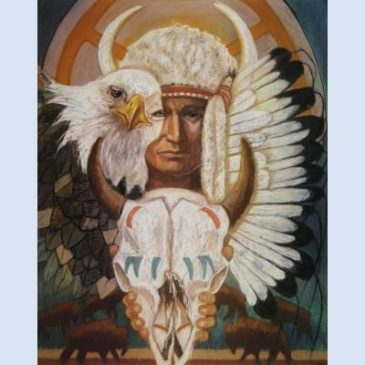 Verhaal: De geest van de bizonschedel